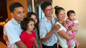 Reuters journalists jailed in Myanmar reunite with families [Video]