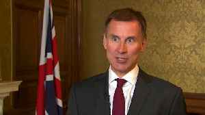 Myanmar can start new chapter after releasing Reuters journalists - UK's Hunt says [Video]