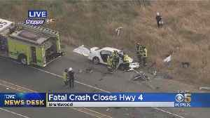 Fatal Crash Shuts Down Highway 4 In Brentwood [Video]