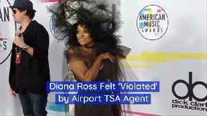 Diana Ross And Her TSA Agent Encounter [Video]