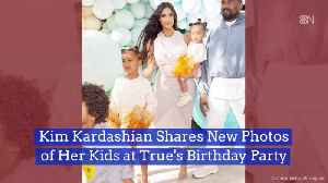 The Kardashians At True's Birthday Party [Video]
