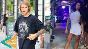 Travis Scott's Rumored Side Chick Attends His Birthday! Justin Bieber Defends Chris Brown | DR [Video]