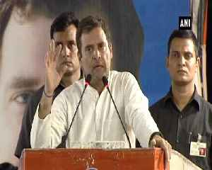 Rahul Gandhi criticizes PM Modi for calling Rajiv Gandhi corrupt No 1 [Video]