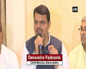 Today entire world stands with India excluding Pakistan CM Fadnavis [Video]