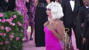 News video: Met Gala: Lady Gaga wows red carpet with four looks