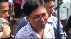 Jailed journalists Wa Lone, Kyaw Soe Oo freed from Myanmar prison [Video]