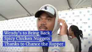 Chance The Rapper Saved Everyone's Spicy Chicken Nuggets [Video]