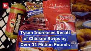Tyson Chicken Has A Huge Recall Of Chicken Products [Video]