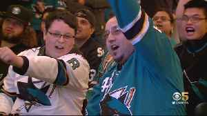 San Jose Sharks Fans Turn Out For Game 6 Watch Party [Video]