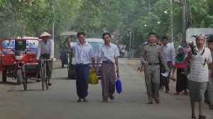 Jailed Reuters reporters released after Burmese pardon [Video]