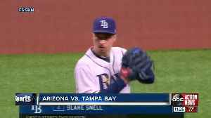 Blake Snell sparkles, Tommy Pham hits grand slam as Tampa Bay Rays rout Arizona Diamondbacks 12-1 [Video]