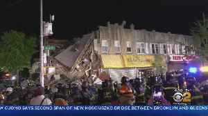 Crash Causes Brooklyn Building To Partially Collapse [Video]