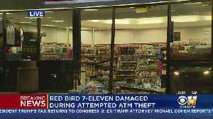 Thieves Trying To Steal ATM Smash Into 7-Eleven [Video]