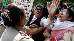 Protests As Indian Chief Justice Cleared Of Sexual Harassment [Video]
