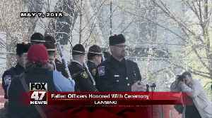 Memorial for Ingham County officers Tuesday morning [Video]