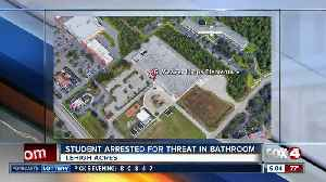 Student arrested for threat at a Lehigh Acres elementary school [Video]