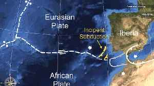 A Tectonic Plate May Have Split Apart Off Portugal's Coast [Video]