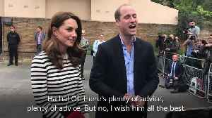 News video: Duke of Cambridge 'thrilled' at news of Harry and Meghan's baby
