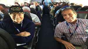 95-Year-Old WWII Vet Dies Returning from Honor Flight to Washington [Video]