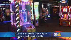 Dave & Buster's Opening In Natick Mall Next Month, Hiring For 200+ Positions [Video]