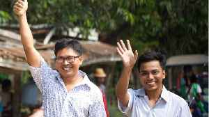 Reuters Journalists Released In Myanmar [Video]