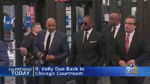 R. Kelly Returns To Court [Video]