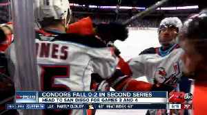 Condors ready to battle back in games 3 and 4 on the road [Video]