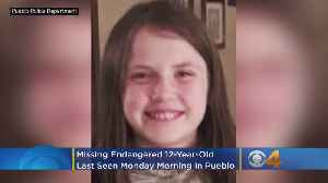 Missing Endangered Child: 12-Year-Old Girl Last Seen Monday Morning In Pueblo [Video]