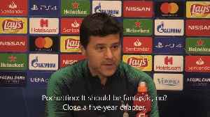 Pochettino hints at leaving should Spurs win the Champions League [Video]