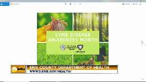 Erie County Health Commissioner Talks About Upcoming Rabies Clinics and it Lyme Disease Awareness Month [Video]