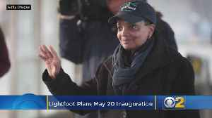 Lightfoot Plans May 20 Inauguration, City Hall Open House [Video]