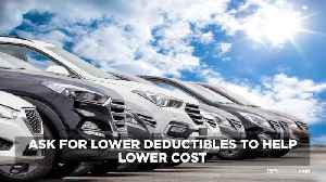 Tips To Lower Your Insurance Rates [Video]