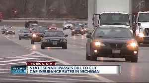 News video: Michigan Senate passes plan to cut car insurance prices, now heads to State House