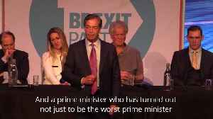 Nigel Farage: Theresa May is the most 'duplicitous and dishonest' PM ever [Video]