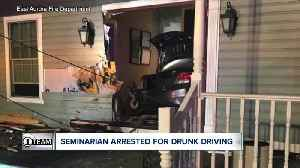 Buffalo Diocese seminarian arrested for drunk driving after crashing into house [Video]