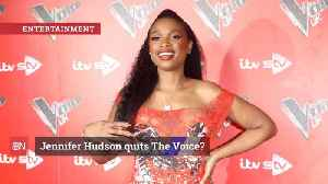 Jennifer Hudson May No Longer Be Involved With 'The Voice' [Video]