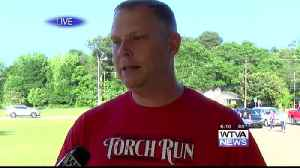 Special Olympic Games torch lit in Tupelo [Video]