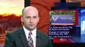 New installation commander named for Robins AFB, ceremony in July [Video]