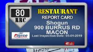 Restaurant Report Card: Health inspection scores April 30-May 6 [Video]