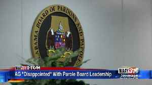 AG 'Disappointed' With Parole Board Leadership [Video]