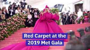 The Hottest Celebrities At The 2019 Met Gala [Video]