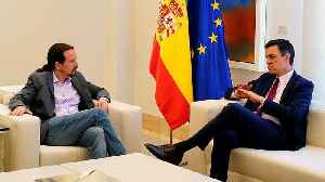 Sanchez meets with opposition leaders as coalition talks get underway in Spain [Video]
