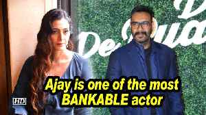 Ajay is one of the most BANKABLE actors: Tabu [Video]