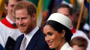 Royals Markle And Harry Share Baby Photos [Video]