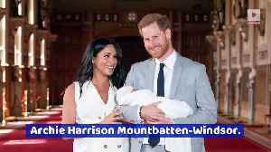 News video: Meghan Markle and Prince Harry Name Their Son Archie
