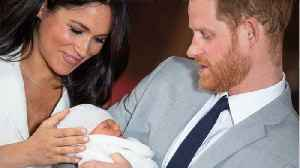 Meghan Markle And Prince Harry Announce Son's Name [Video]