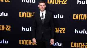 Austin Stowell 'Catch 22' Premiere Black Carpet [Video]