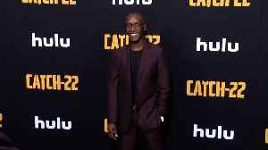 Don Cheadle 'Catch 22' Premiere Black Carpet [Video]