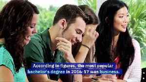 US College Students Are Shifting Towards Business and Health Degrees [Video]