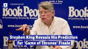 Stephen King Reveals His Prediction for 'Game of Thrones' Finale [Video]